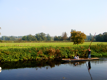 Punting at Grantchester