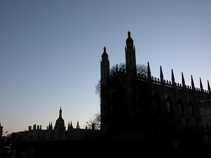 King's College at Sunset